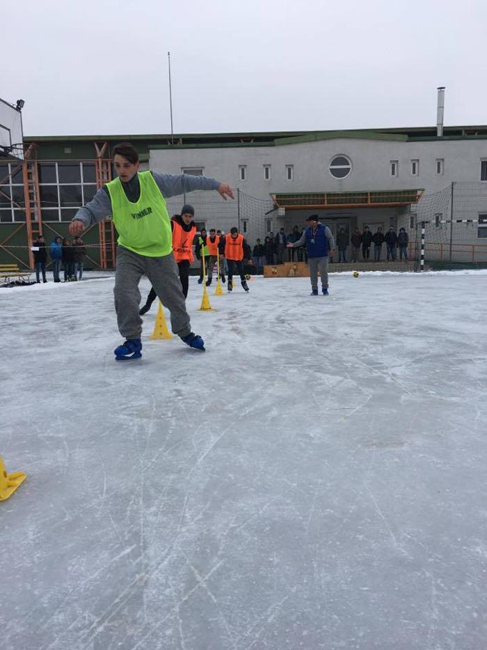 Concurs de patinaj la Satu Mare. Unde a avut loc