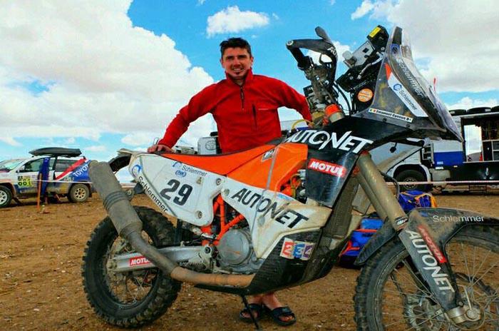 Dakar 2017: Mani Gyenes, pe locul 16 după patru probe