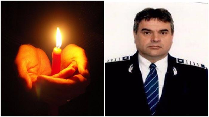 Polițiștii sătmăreni, alături de familia colegului lor ucis
