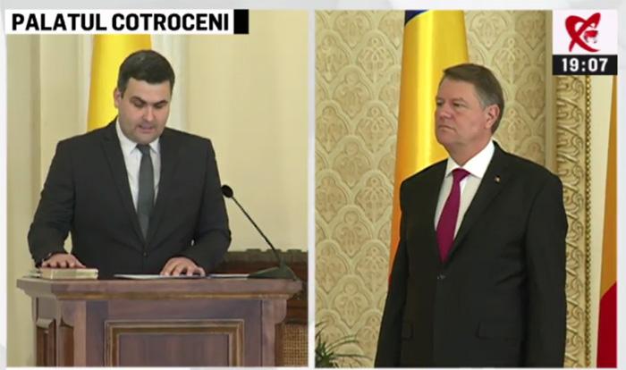 Ministrul Apărării Naționale, Gabriel Leș, a depus jurământul