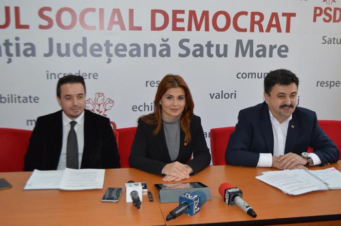 PSD Satu Mare și-a prezentat obiectivele de investiții pe anul 2017. Sala Polivalentă, pe lista social-democraților