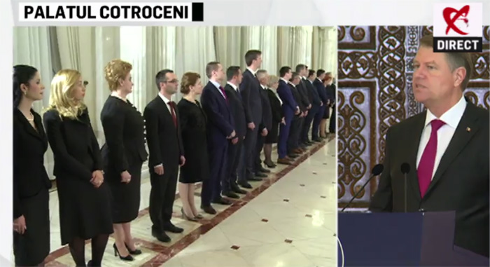 Cabinetul Grindeanu a depus jurământul