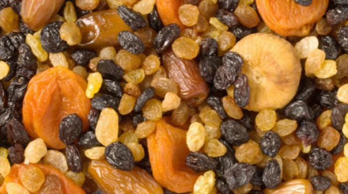 Care sunt cele mai sănătoase fructe uscate