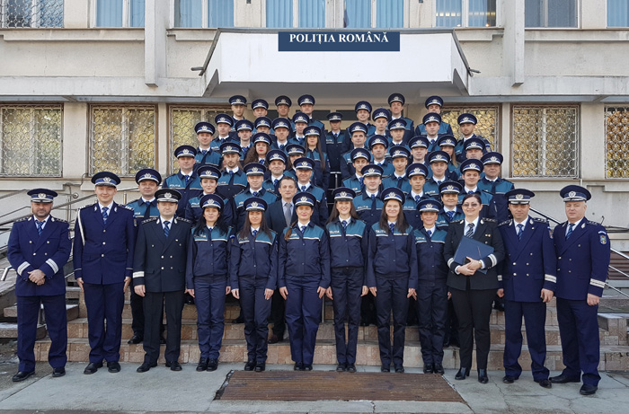 48 de polițiști au depus azi jurământul la IPJ Satu Mare (Foto)
