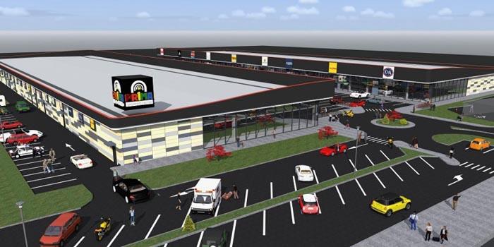 Un nou centru comercial pe Drumul Careiului. Vezi detalii