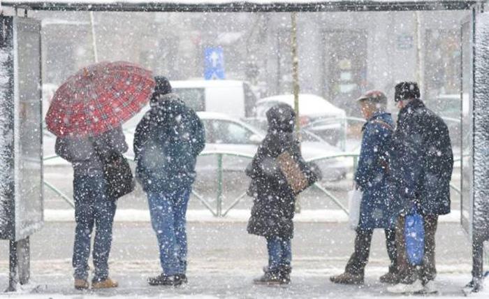 Cod galben de ninsori și viscol în județul Satu Mare