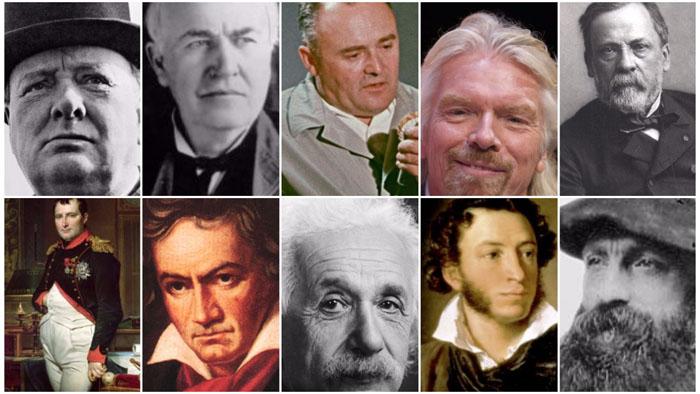 TOP 10 genii care nu s-au descurcat la școală