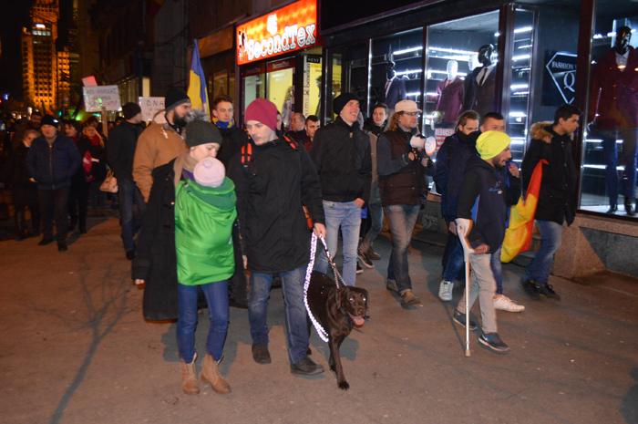 Sătmărenii au ieșit și astăzi la protest (Foto&video)