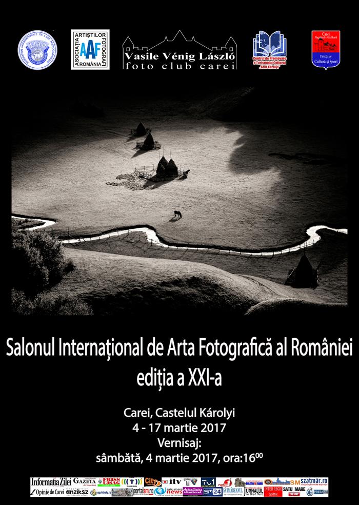 Salonului Internaţional de Artă Fotografică al României, ediția a XXI-a la Carei