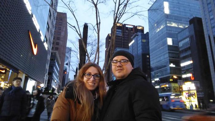 Doi sătmăreni, în inima Asiei. Cum au sărbătorit Anul Nou Corean (Galerie foto&video)
