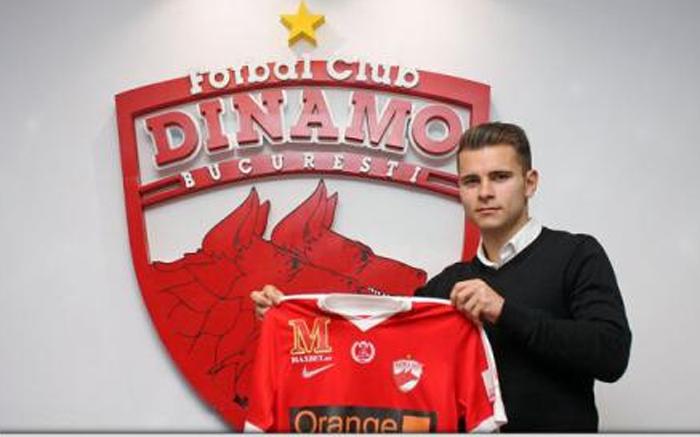 Claudiu Bumba a semnat contractul cu Dinamo București