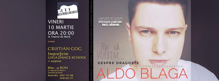 """""""Despre Dragoste"""", album semnat de Aldo Blaga"""