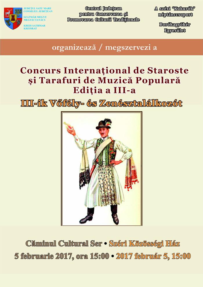 Concursul Internațional de Staroste și Tarafuri de muzică populară