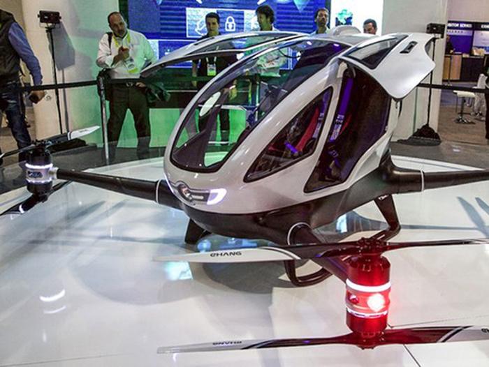 Primul serviciu de taxi zburător din lume. Unde va fi implementat (Video)