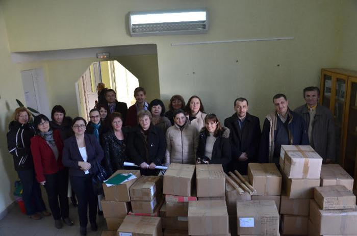 Donație de carte franceză pentru școlile din Satu Mare