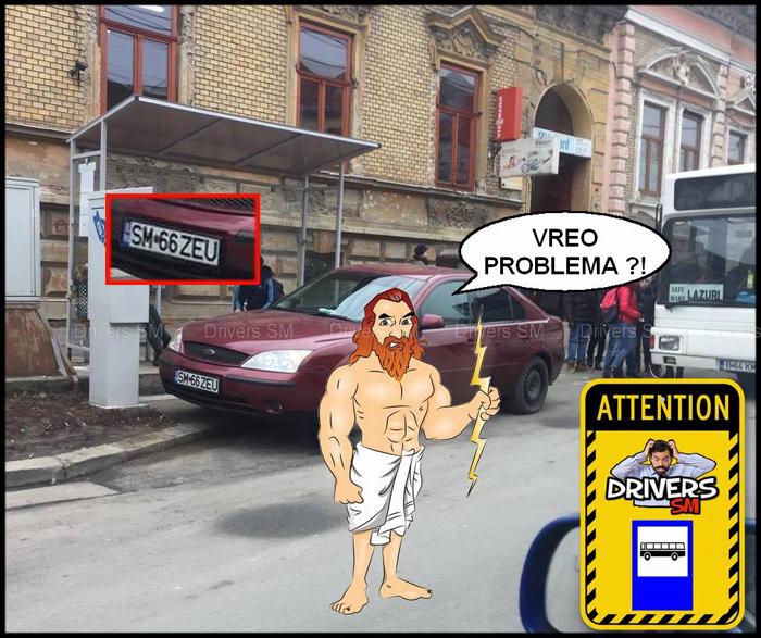 Când zeii coboară pe străzile Sătmarului … (Foto)