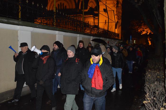 Un nou protest la Satu Mare (Galerie foto&video)