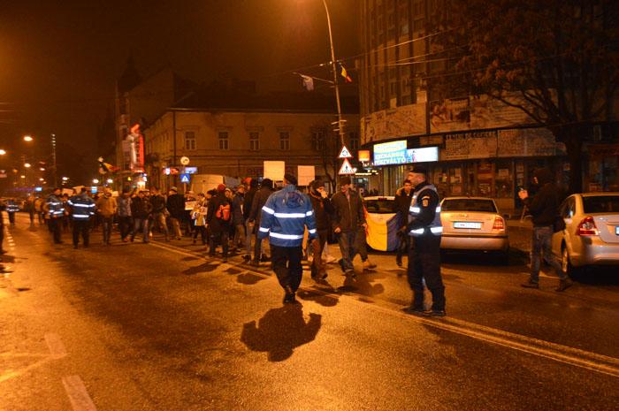 Sătmărenii au ieșit din nou în stradă (Foto&video)