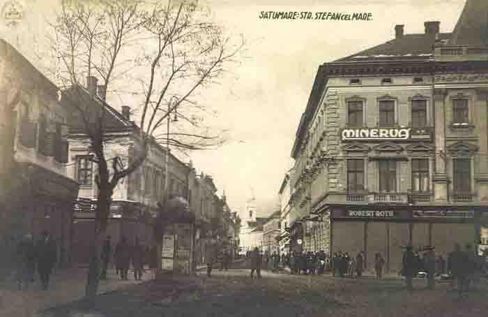 Cum arăta strada Ștefan cel Mare, cu 100 de ani în urmă (Foto)