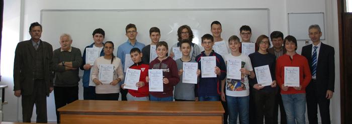 Eminescieni premiați la Concursul Național de fizică PHI (Foto)