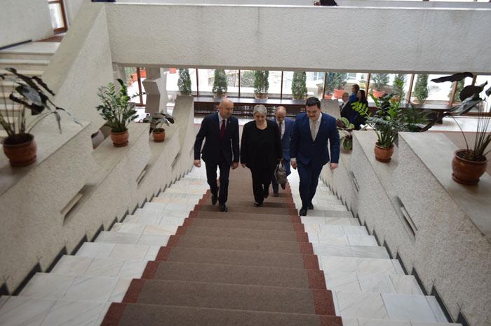 Vicepremierul Sevil Shhaideh, în vizită oficială la Satu Mare (Foto)