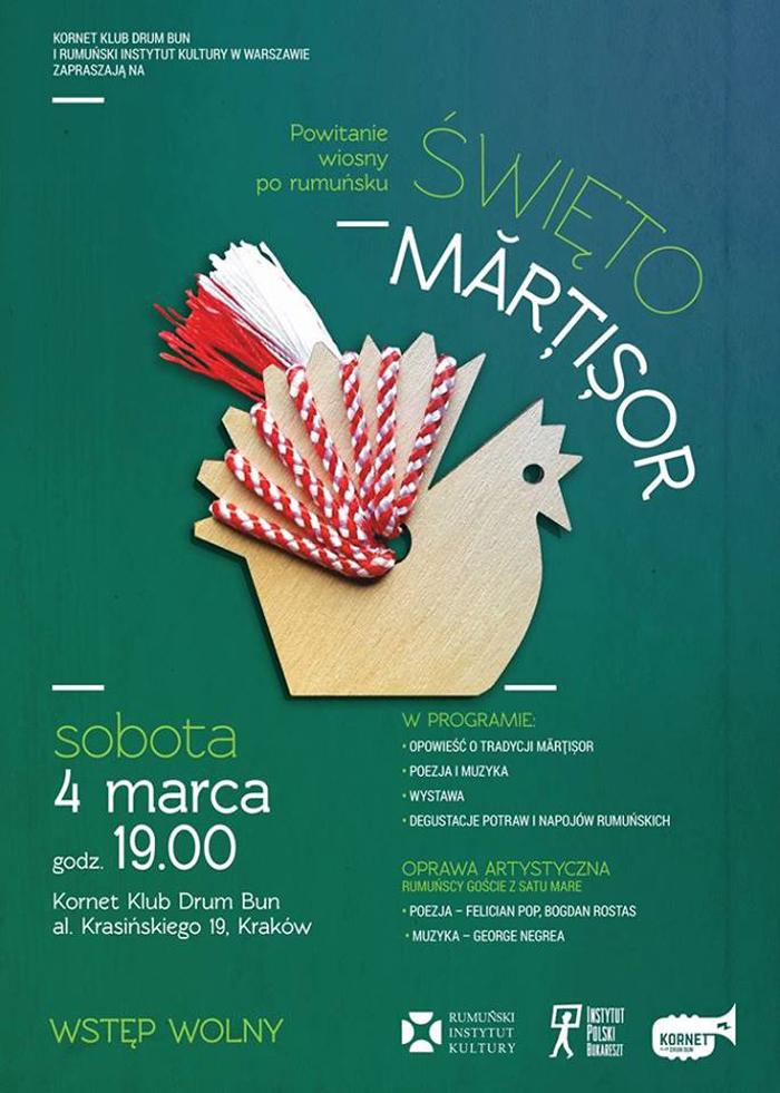 Sătmăreni invitați de ICR Varșovia, la Sărbătoarea Mărțișorului
