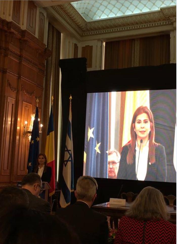 Ioana Bran a participat la Conferința Internațională de Diplomație și Afaceri Globale