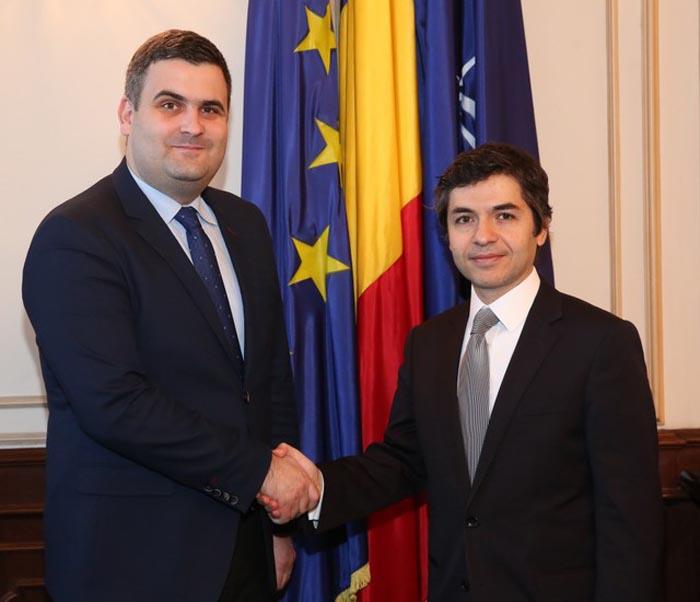Ministrul Gabriel Leș a avut o întrevedere cu ambasadorul Turciei la Bucureşti