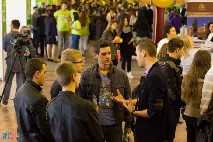 Peste 70 de universități și instituții educaționale din lume sunt prezente pe 21 martie la RIUF Cluj-Napoca