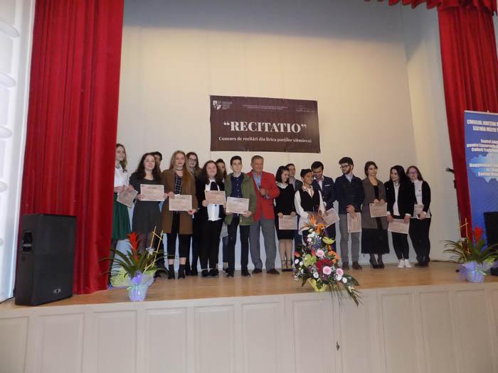 10 ani de Recitatio la Satu Mare. Actorul Dorel Vișan, președintele juriului
