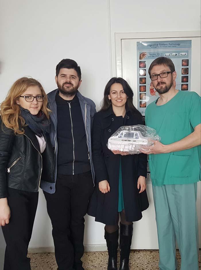 Clubul Rotaract Satu Mare oferă o nouă donație Spitalului Județean Satu Mare (Foto)