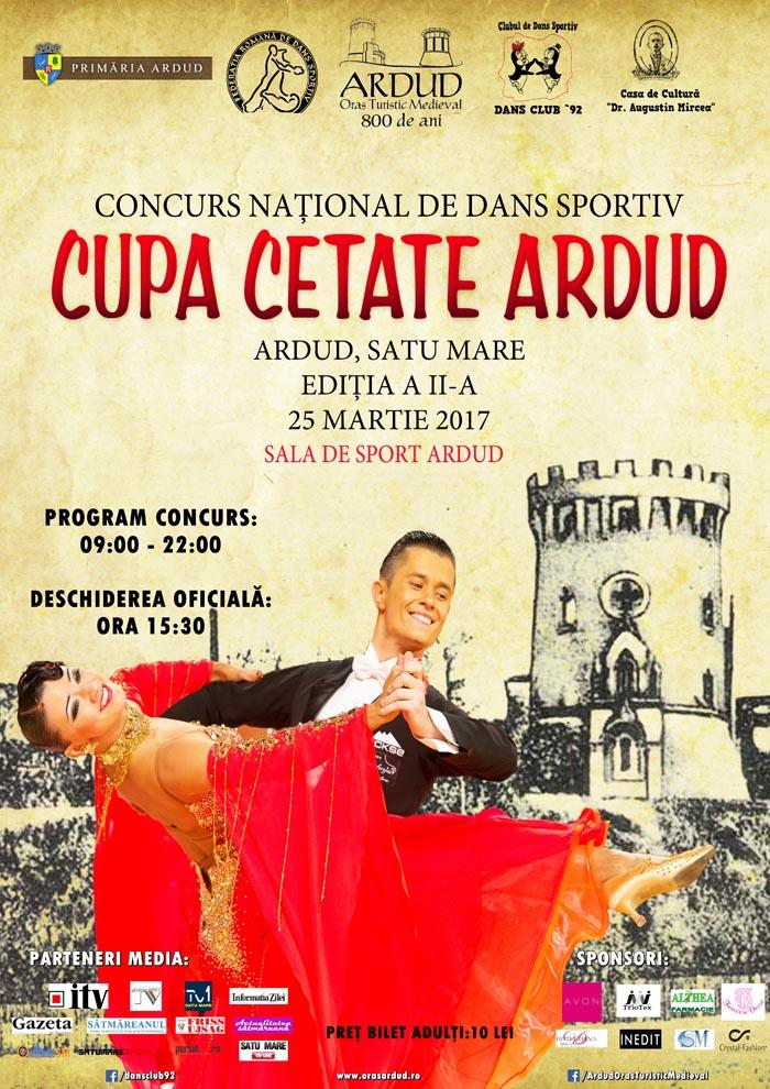 Concurs național de dans în Ardud. Organizatorii promit un show excepțional