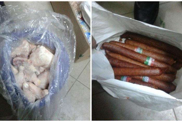 Alimente confiscate și distruse