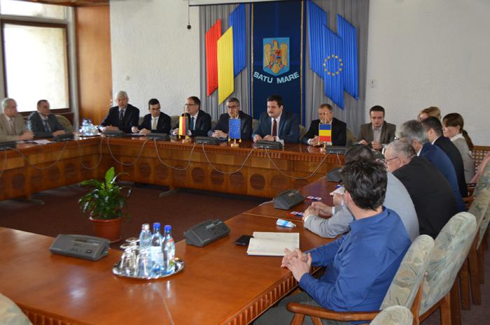 Conducerea județului vrea să demareze proiecte comune cu parteneri din Germania