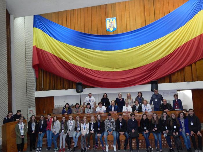 Elevi și profesori din Bulgaria și Polonia, în vizită la Satu Mare