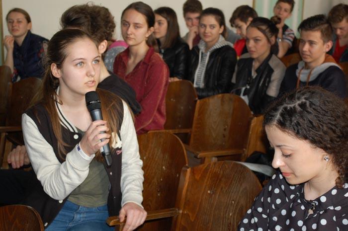 """""""Ziua Francofoniei"""", marcată la Colegiul Național """"Mihai Eminescu"""" (Foto)"""