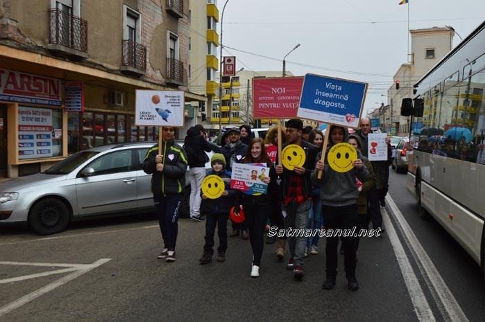 """Sătmărenii invitați să participe la """"Marșul pentru viață"""""""