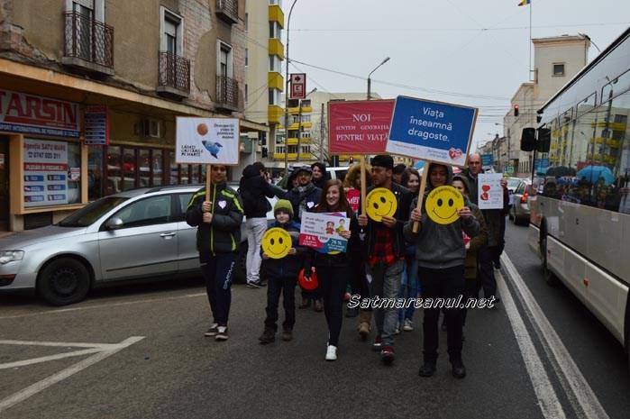 """Sătmărenii sunt invitați la """"Marșul pentru viață"""""""