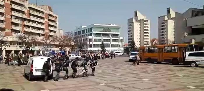 Luare de ostatici pe un autobuz din Satu Mare. Vezi detalii (Foto&video)