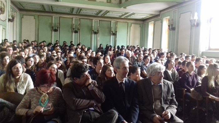 """Seminarii anti-dependență la Colegiul Național """"Mihai Eminescu"""" (Foto)"""