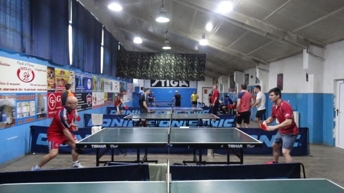 Pompierii s-au întrecut la tenis de masa. Vezi clasamentul competiției (Foto)
