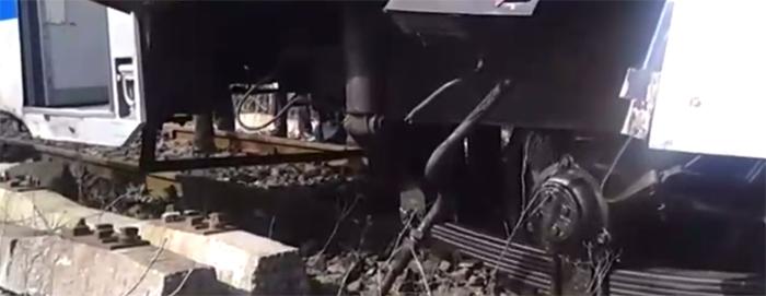 De ce a sărit de pe șine trenul Satu Mare – Baia Mare (Foto)