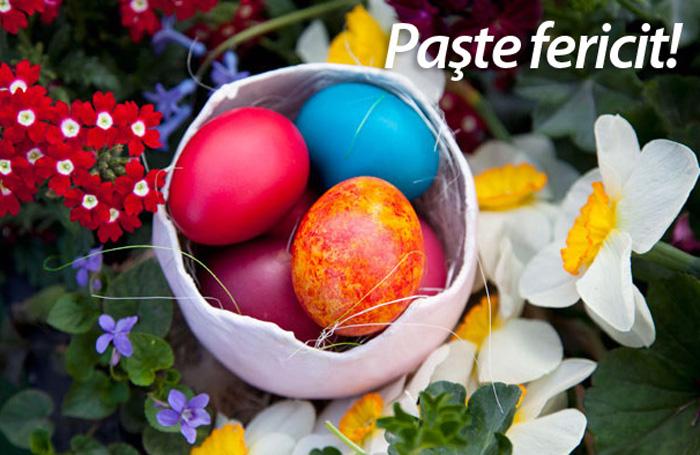 Ministrul Apărării Gabriel Leș vă urează Paște Fericit