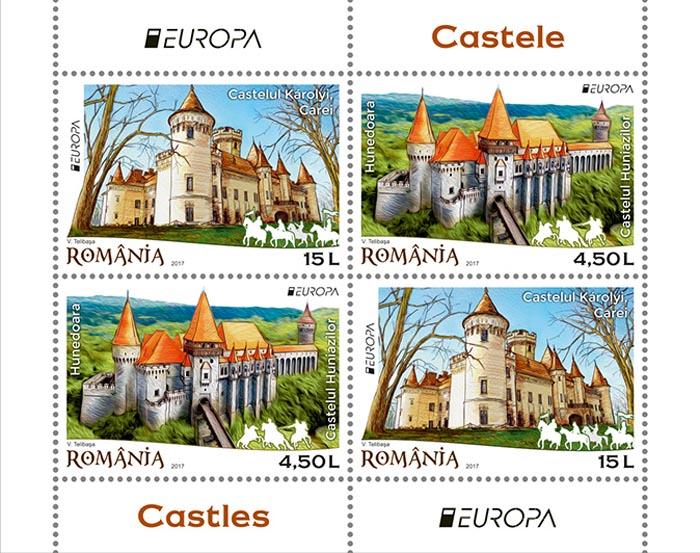 Castelul Karolyi, promovat pe timbrele poștale. Unde pot fi cumpărate (Foto)