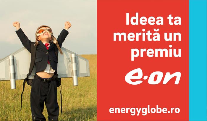 Ai un proiect în domeniul eficienţei energetice? Înscrie-l în competiţia E.ON Energy Globe Award Romania 2017