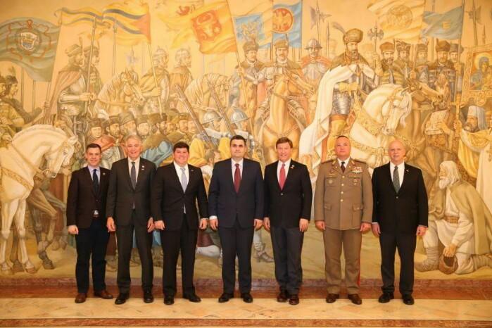 Delegație a Camerei Reprezentanților din SUA, primită de ministrul Gabriel Leș (Foto)
