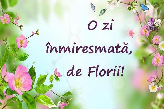 """Duminica Floriilor: """"Această zi este dedicată celui mai frumos lucru din lume – unei flori"""""""