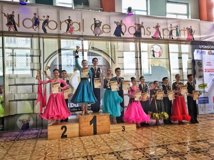 Trei medalii pentru Royal Dance Club la concursurile de la Cluj-Napoca și Alba Iulia (Foto)