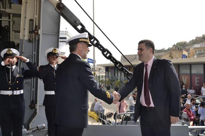 Ministrul Gabriel Leș, la reuniunea ministerială de la Malta