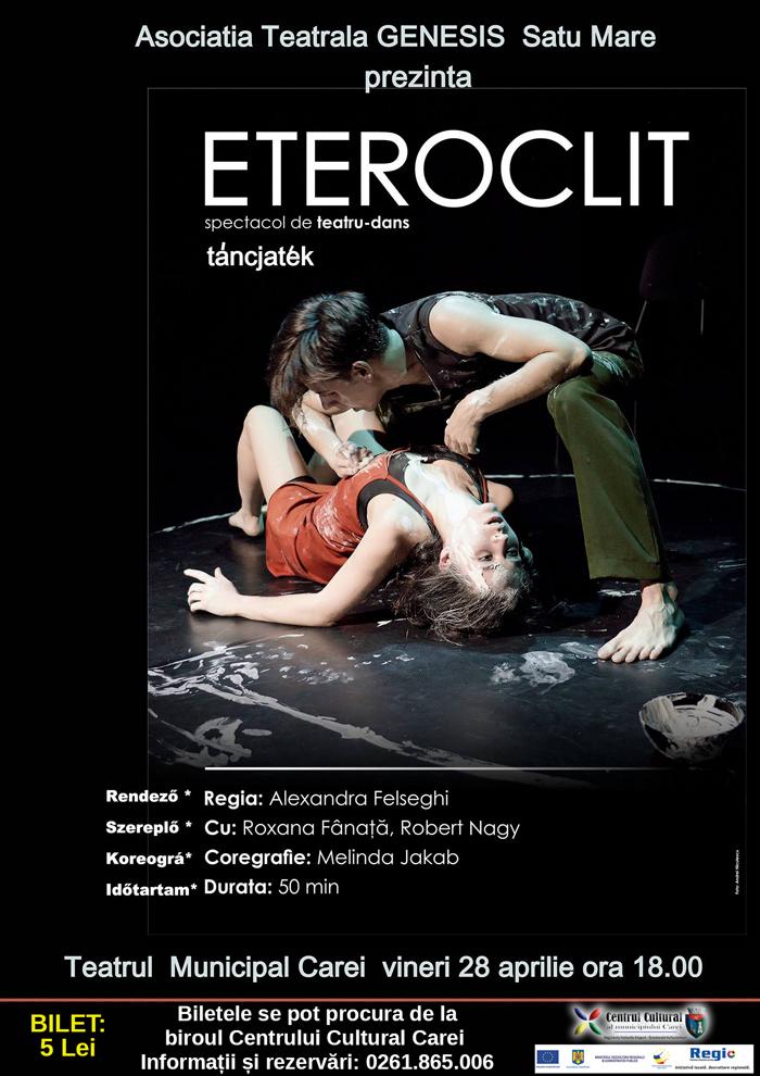 Spectacolul de teatru-dans la Carei